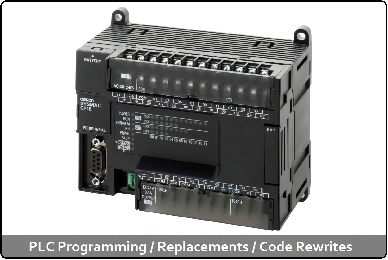 PLC Programming / Replacements / Code Rewrites