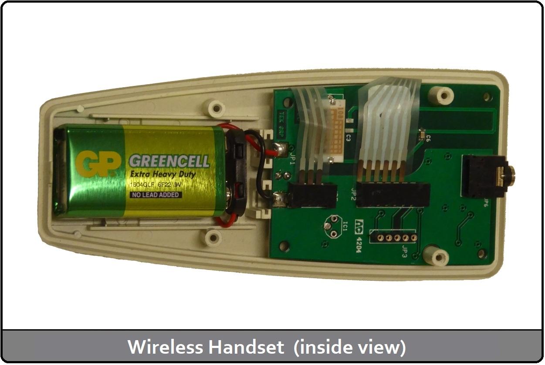 Wireless Handset (Inside View)