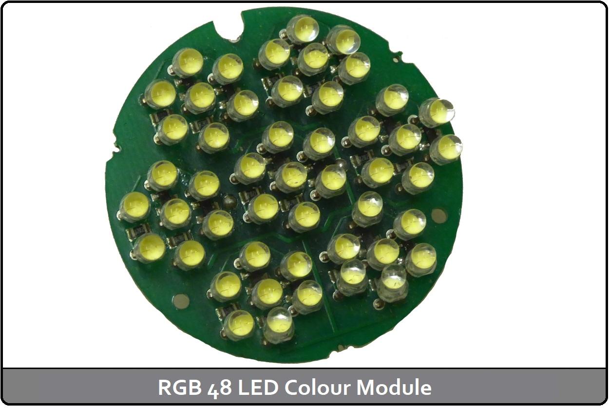 RGB 48 LED Colour Module