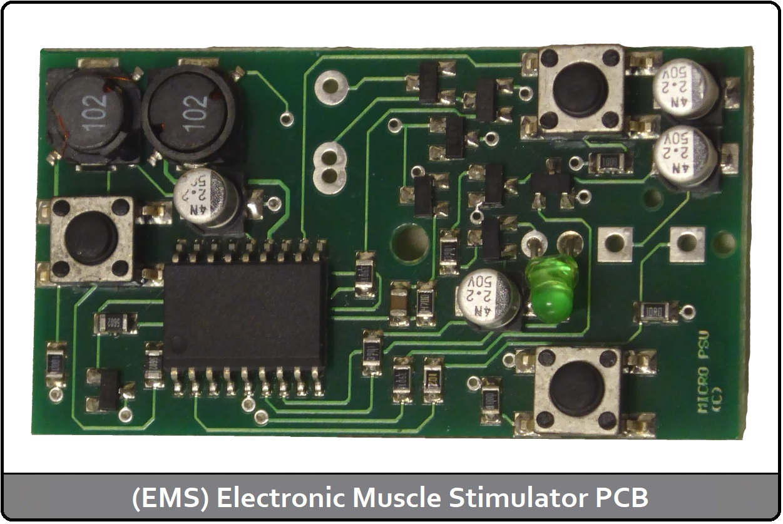 (EMS) Electronic Muscle stimulator PCB